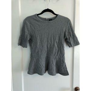 Gap peplum shirt